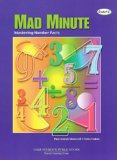 Book Cover Mad Minute: Mastering Number Facts, Grades1-8