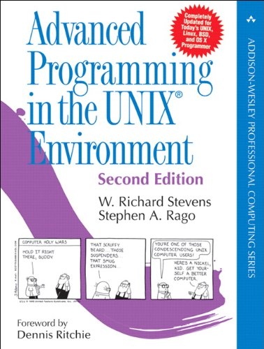 Book Cover Advanced Programming in the UNIX Environment (2nd Edition)
