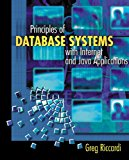 Book Cover Principles of Database Systems with Internet and Java Applications