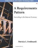 Book Cover A Requirements Pattern: Succeeding in the Internet Economy