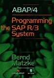Book Cover ABAP/4: Programming the SAP(R) R/3(R) System