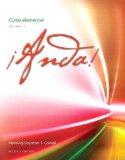 Book Cover ¡Anda! Curso elemental, Volume 1 (2nd Edition)