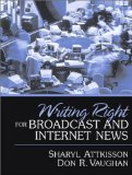 Book Cover Writing Right for Broadcast and Internet News