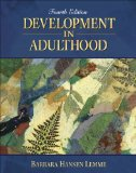 Book Cover Development in Adulthood (4th Edition)