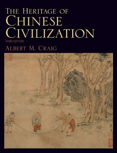Book Cover The Heritage of Chinese Civilization (3rd Edition)