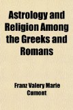 Book Cover Astrology and Religion Among the Greeks and Romans