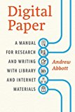 Book Cover Digital Paper: A Manual for Research and Writing with Library and Internet Materials (Chicago Guides to Writing, Editing, and Publishing)