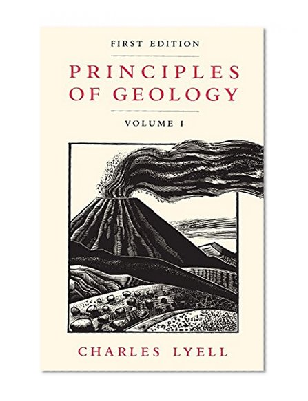Book Cover Principles of Geology, Volume 1