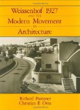 Book Cover Weissenhof 1927 and the Modern Movement in Architecture