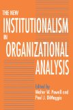 Book Cover The New Institutionalism in Organizational Analysis