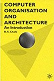 Book Cover Computer Organisation And Architecture An Introduction