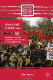 Book Cover What's Left of Blackness: Feminisms, Transracial Solidarities, and the Politics of Belonging in Britain (Comparative Feminist Studies)