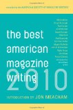 Book Cover The Best American Magazine Writing 2010