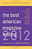 Book Cover The Best American Magazine Writing 2012