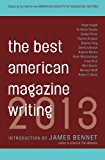 Book Cover The Best American Magazine Writing 2013