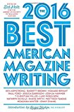 Book Cover The Best American Magazine Writing 2016