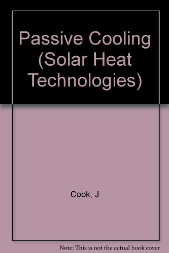 Book Cover Passive Cooling (Solar Heat Technologies)