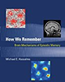 Book Cover How We Remember: Brain Mechanisms of Episodic Memory (MIT Press)
