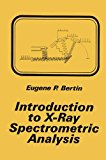 Book Cover Introduction to X-Ray Spectrometric Analysis