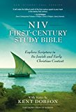 Book Cover NIV, First-Century Study Bible, Hardcover: Explore Scripture in Its Jewish and Early Christian Context