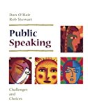 Book Cover Public Speaking: Challenges and Choices