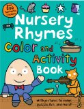 Book Cover Nursery Rhymes Color and Activity Book