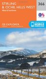 Book Cover Stirling and Ochil Hills West (OS Explorer Map)