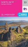 Book Cover North Skye, Dunvegan & Portree (OS Landranger Map)