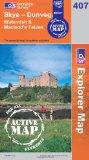 Book Cover Skye - Dunvegan (OS Explorer Map Active)