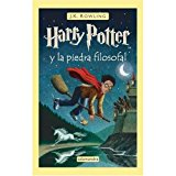 Book Cover Harry Potter y la Piedra Filosofal (Spanish edition of Harry Potter and the Sorcerer's Stone)
