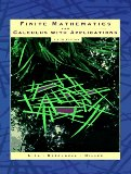 Book Cover Finite Mathematics and Calculus with Applications (5th Edition)