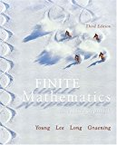 Book Cover Finite Mathematics: An Applied Approach (3rd Edition)