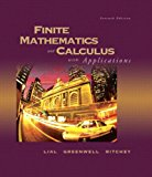 Book Cover Finite Mathematics and Calculus with Applications (7th Edition)