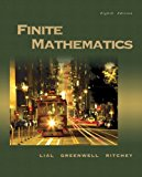 Book Cover Finite Mathematics (8th Edition)