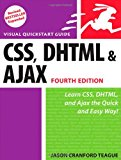 Book Cover CSS, DHTML, and Ajax, Fourth Edition