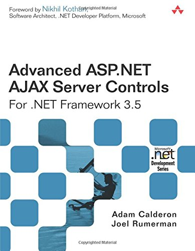 Book Cover Advanced ASP.NET AJAX Server Controls For .NET Framework 3.5