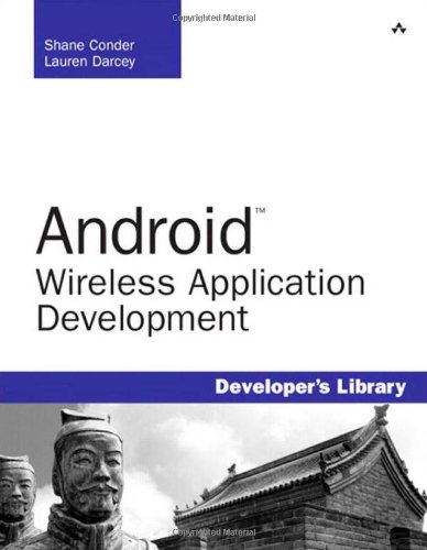 Book Cover Android Wireless Application Development