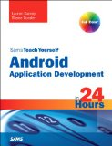 Book Cover Sams Teach Yourself Android Application Development in 24 Hours