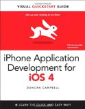 Book Cover iPhone Application Development for iOS 4: Visual QuickStart Guide