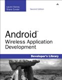 Book Cover Android Wireless Application Development (2nd Edition) (Developer's Library)