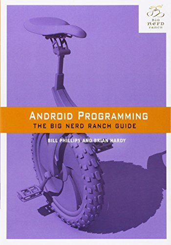 Book Cover Android Programming: The Big Nerd Ranch Guide (Big Nerd Ranch Guides)