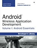 Book Cover Android Wireless Application Development Volume I: Android Essentials (3rd Edition) (Developer's Library)