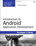 Book Cover Introduction to Android Application Development: Android Essentials (4th Edition) (Developer's Library)