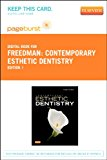 Book Cover Contemporary Esthetic Dentistry - Elsevier eBook on VitalSource (Retail Access Card), 1e (Pageburst Digital Book)