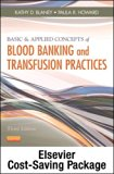 Book Cover Basic & Applied Concepts of Blood Banking and Transfusion Practices - Elsevier eBook on VitalSource (Retail Access Card), 3e