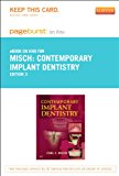 Book Cover Contemporary Implant Dentistry - Elsevier eBook on Intel Education Study (Retail Access Card), 3e