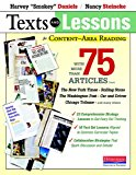Book Cover Texts and Lessons for Content-Area Reading: With More Than 75 Articles from The New York Times, Rolling Stone, The Washington Post, Car and Driver, Chicago Tribune, and Many Others