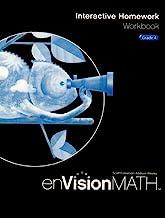 Book Cover EnVision Math 2009 Interactive Homework Workbook, Grade 4