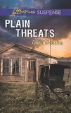 Book Cover Plain Threats (Love Inspired Suspense)