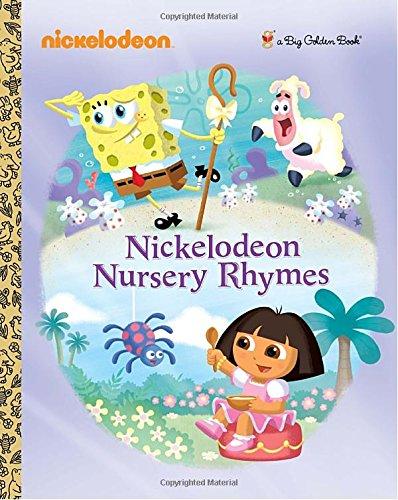 Book Cover Nickelodeon Nursery Rhymes (Nickelodeon) (Big Golden Book)